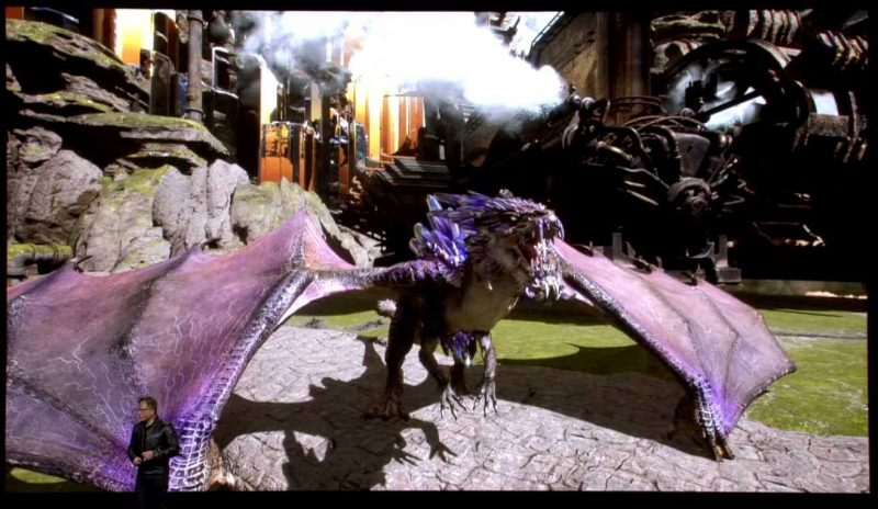 Nvidia GTC 2019 - Dragon Hound Coming from Nexon With RTX VERY On