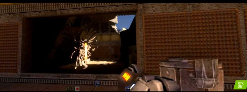 Nvidia GTX 2019 - Quake Demo Continues to Blow Minds