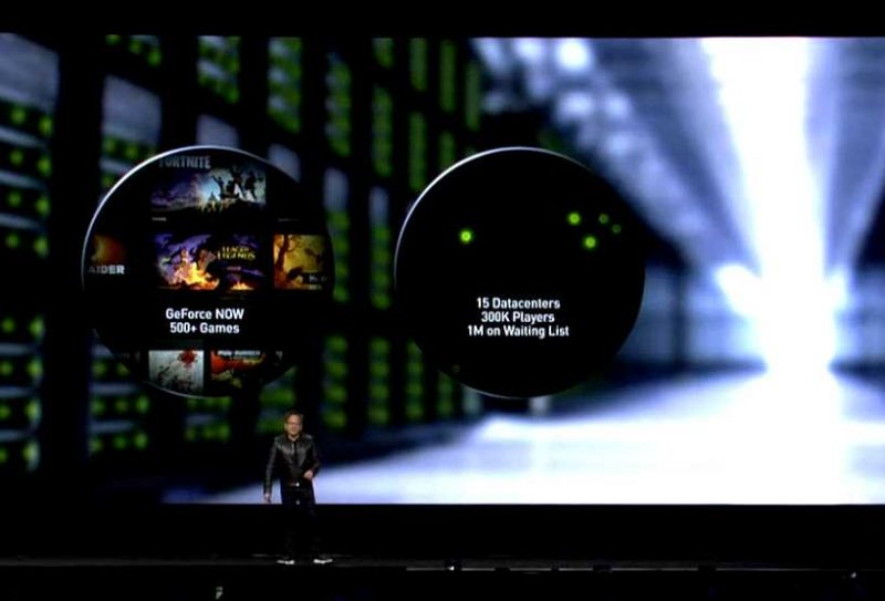 GeForce Now at Nvidia GTC 2019