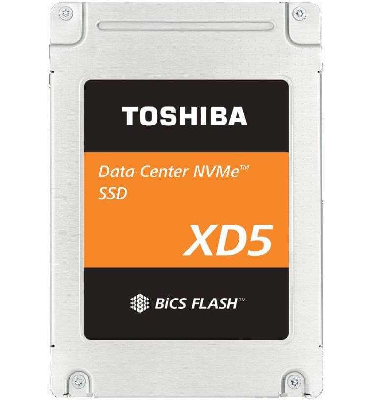 Toshiba XD5 NVMe SSD