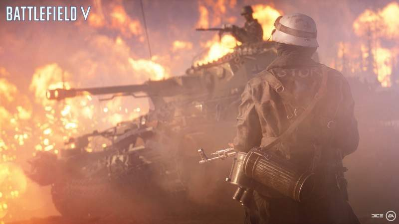 Trailer Released for Battlefield V's 'Firestorm' Battle Royale Mode