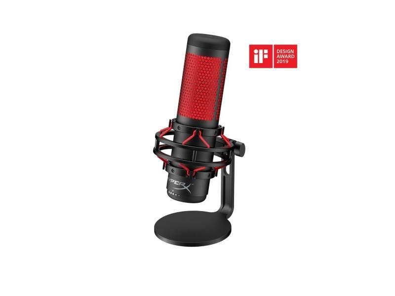 HyperX Announces QuadCast Microphone for Streamers