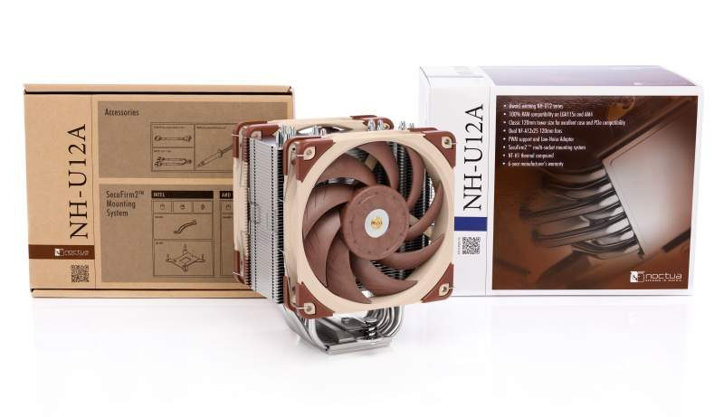 Noctua Presents the NH-U12A Premium Class CPU Cooler