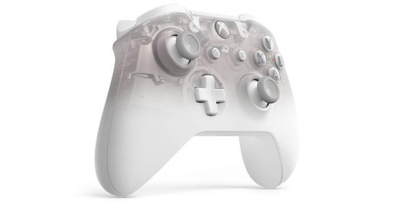 Microsoft Unveils the Xbox Phantom White Wireless Controller