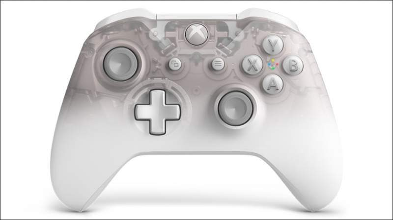 Microsoft Unveils the Xbox Phantom White Wireless Controller