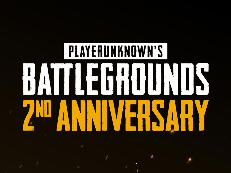 PUBG Turns 2 Years Old – Gives Out Special Anniversary Virtual Item