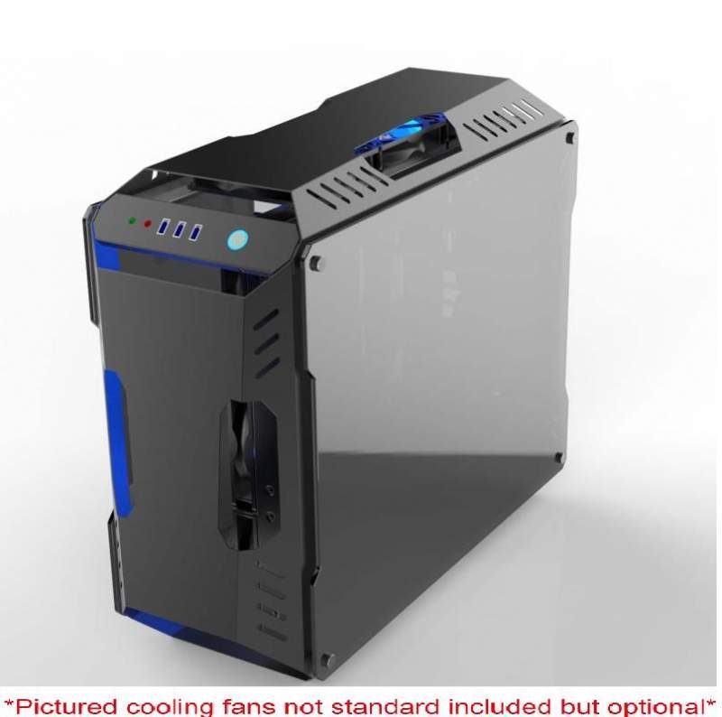 Spire Introduces the TARAXX Chassis with Dual Tempered Glass