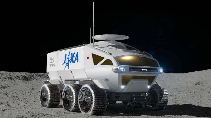 Toyota Shows Off Moon Rover Design for Japan Aerospace Agency