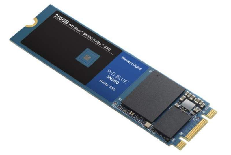 WD Blue SN500 SSDs Now Available in Faster NVMe Variant