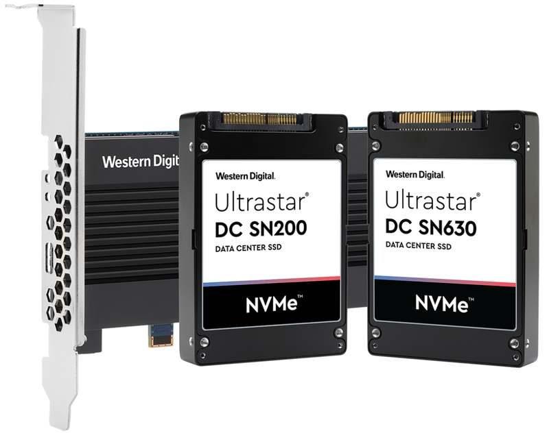 western digital ultrastar dc sn630 cl sn720