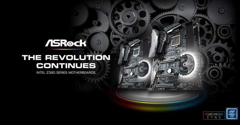 ASRock Adds 300-series BIOS Support for New Intel 9th Gen CPUs