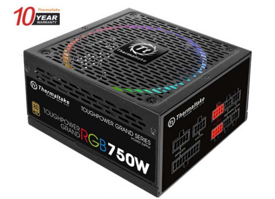 Thermaltake Toughpower Grand RGB 750w PSU Review