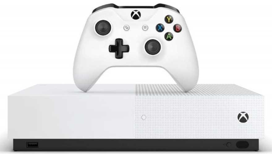 Microsoft Reveal Blank Faced Disc-Less Xbox One