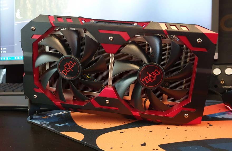 PowerColor RedDevil RX590 Graphics Card Review