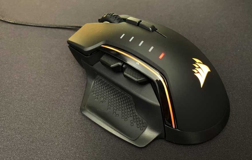 Corsair Glaive RGB Pro Gaming Mouse Review