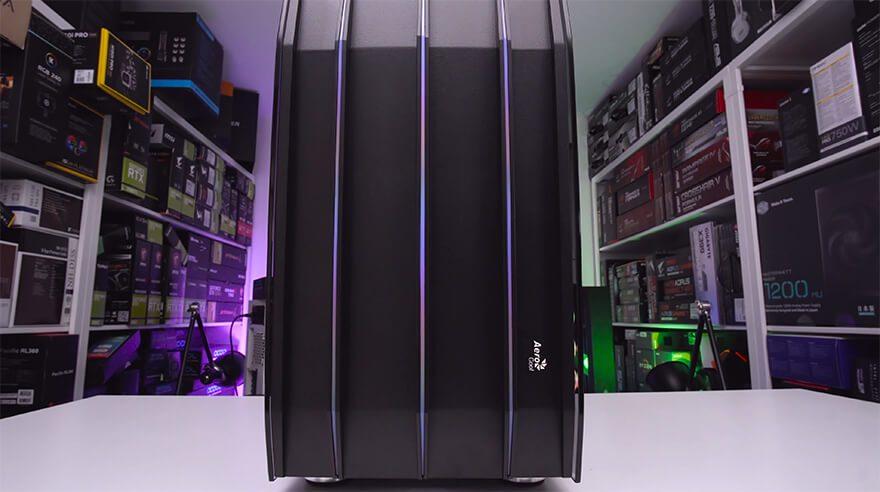 $1200 Gaming PC Timelapse [GTX 1660 & AMD 2600]