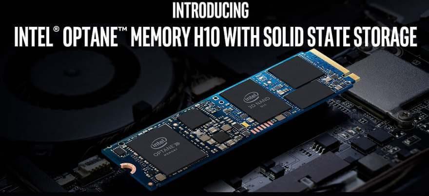 Intel Optane Memory H10 briefing 1