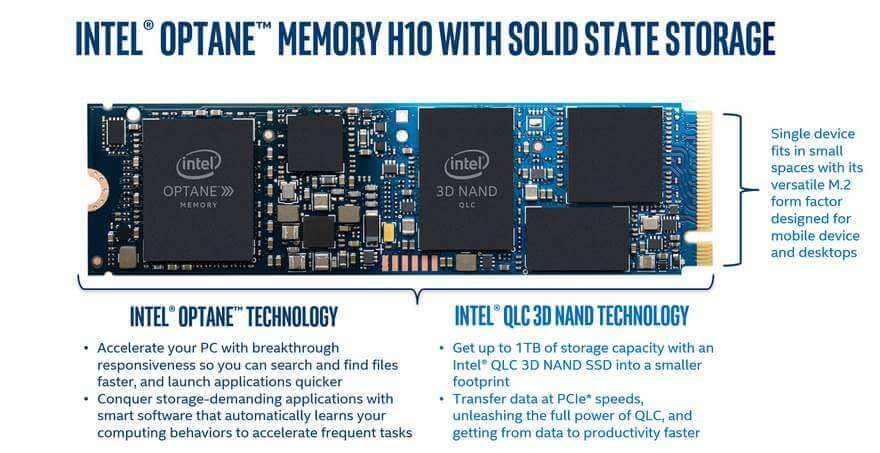 Intel Optane Memory H10 briefing 3