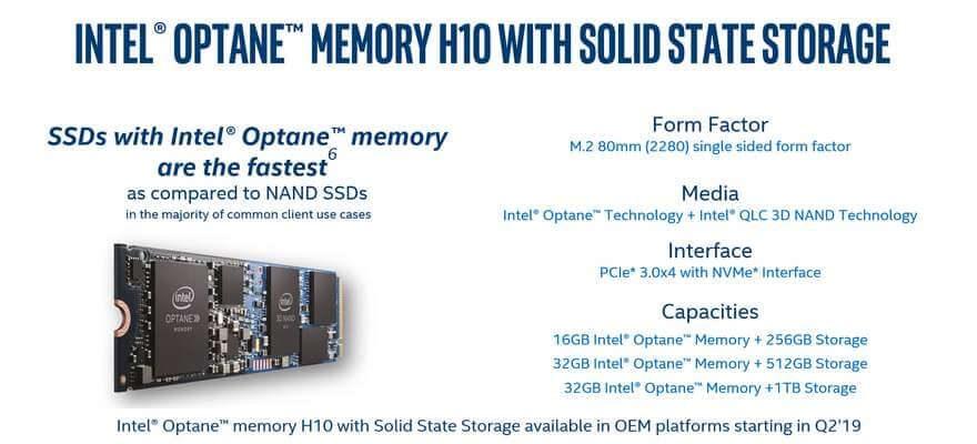 Intel Optane Memory H10 briefing 7