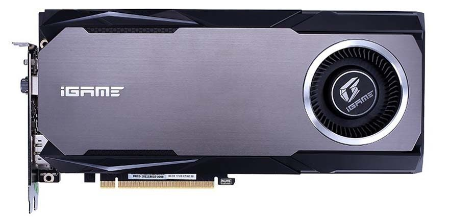 Colorful iGame RTX 2080 Ti Neptune Card Released