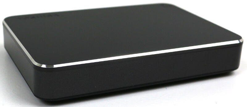 Toshiba Canvio Premium 4TB Photo view side angle