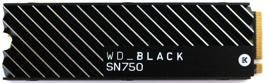 WD Black SN750 1TB Photo view top
