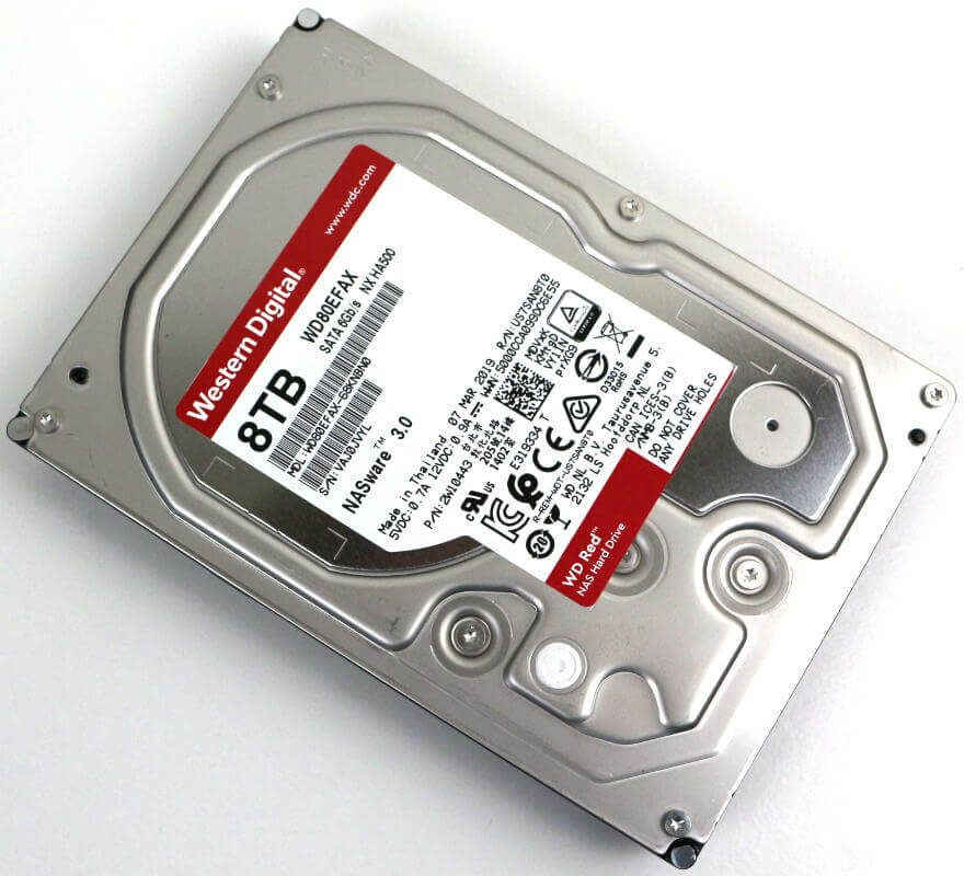 Western Digital WD RED 8TB Photo view angle 2