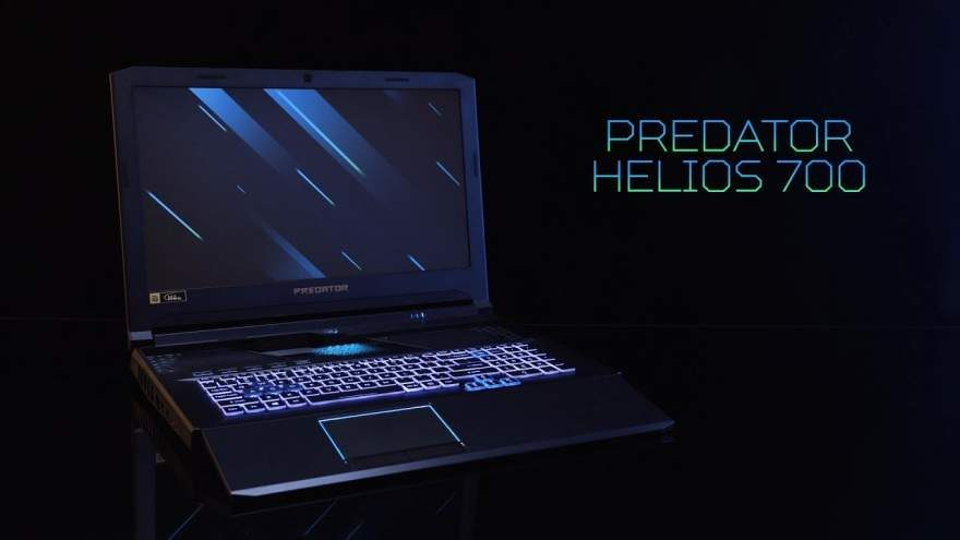 The New Acer Predator Helios 700 Laptop's Keyboard Slides Out