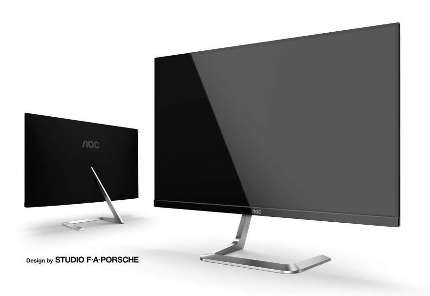AOC Unveils Two Studio F. A. Porsche Designed Monitors