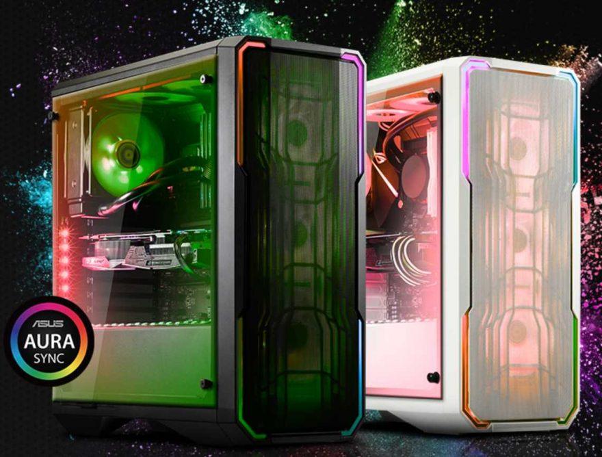 BitFenix Enso Mesh Tempered Glass Aura Sync Case Review