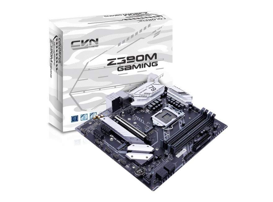 Colorful Introduces the CGN Z390M Gaming V20 Motherboard