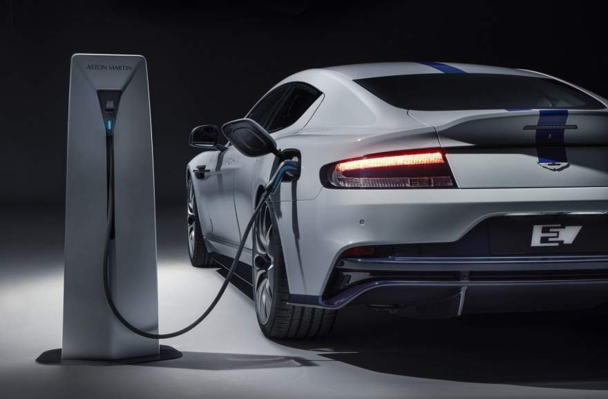 Aston Martin Debuts the Rapide E – Their First All-Electric Car