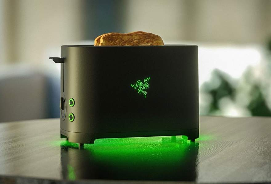 Razer Toaster to Finally Become Reality After 5 Years