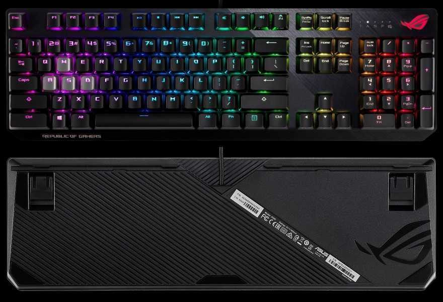 ASUS RoG STRIX Scope RGB Mechanical Gaming Keyboard Review