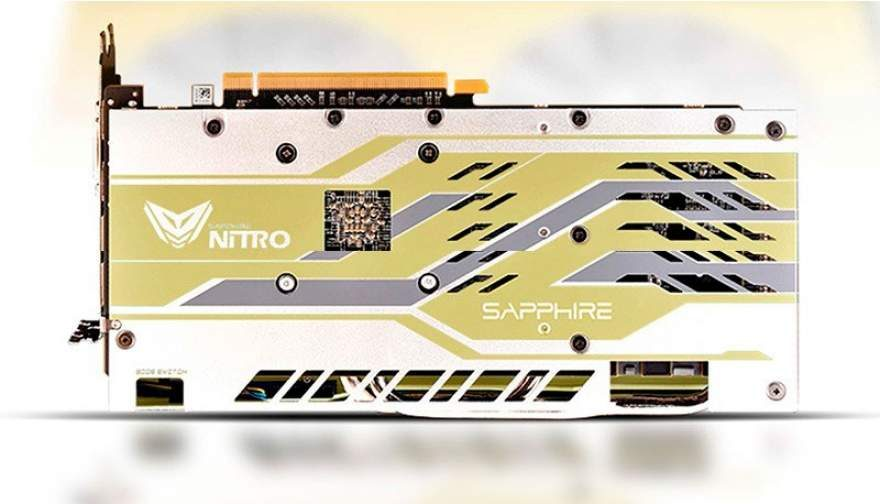 Sapphire Celebrates AMD's 50th Anniversary with Golden RX 590