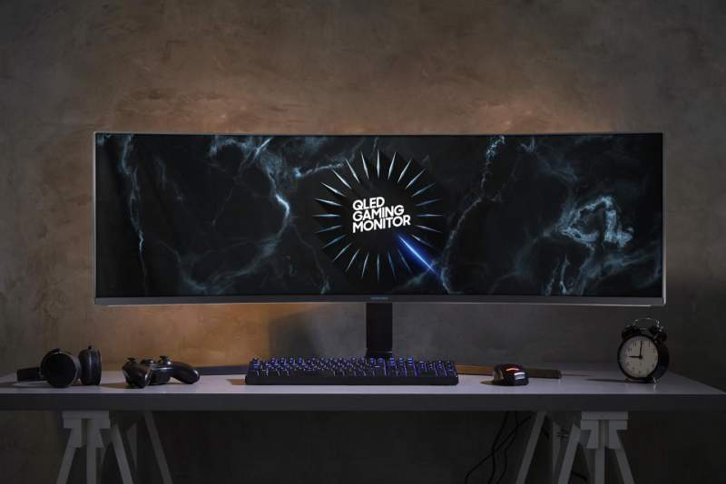 """Samsung CRG9 49"""" Dual-QHD Monitor Now Available for Pre-Order"""