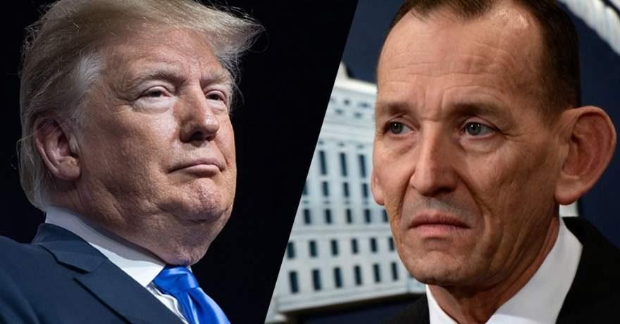 Donald Trump Fires Secret Service Chief