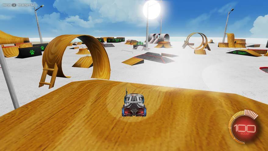 Rocket League Mean Puss Skatepark Mod Released!