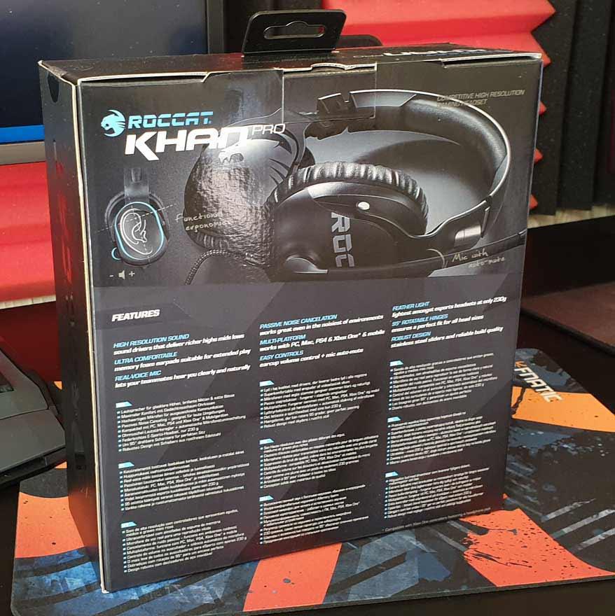 Roccat Kahn Pro Hi-Res Headset Review