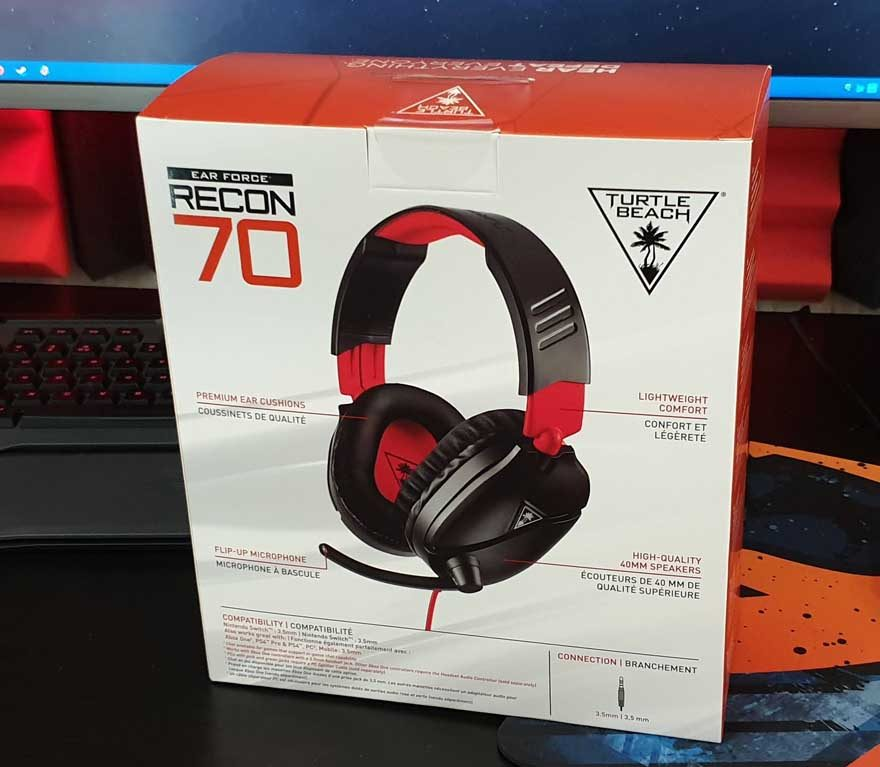 Turtle Beach Ear Force Recon 70 Headset Review