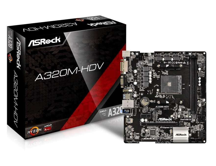 ASRock Updates BIOS with AGESA 0.0.7.2 Support for A320 Boards