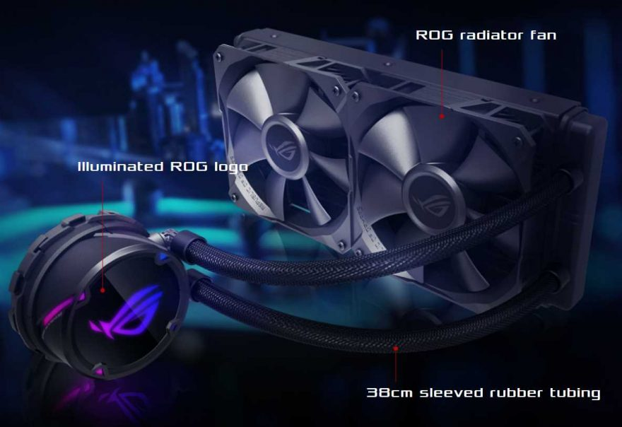 ASUS Unleash New STRIX LC AIO CPU Coolers
