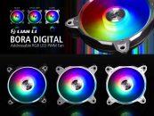 Lian Li Rolls Out the BORA Digital RGB Fan Series