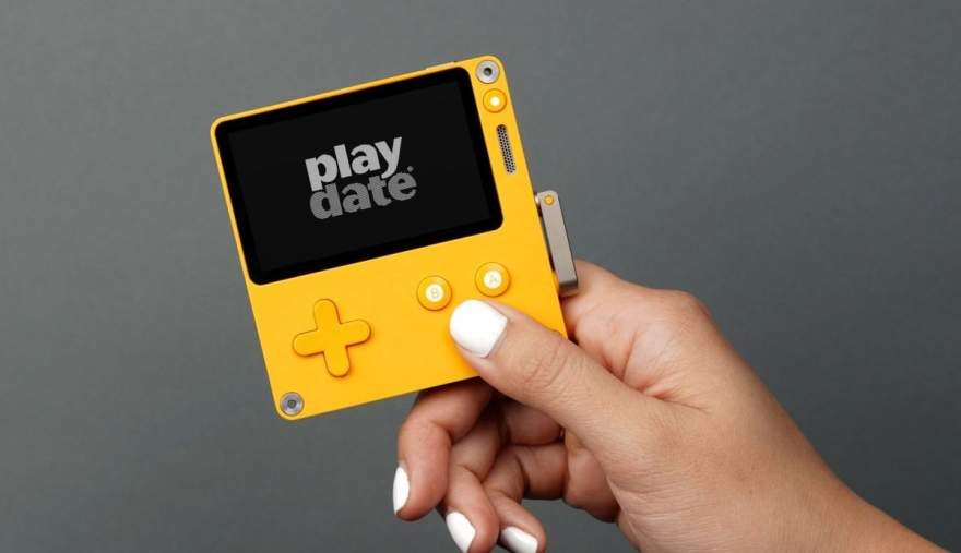 Panic Launches New Playdate Handheld Game Console