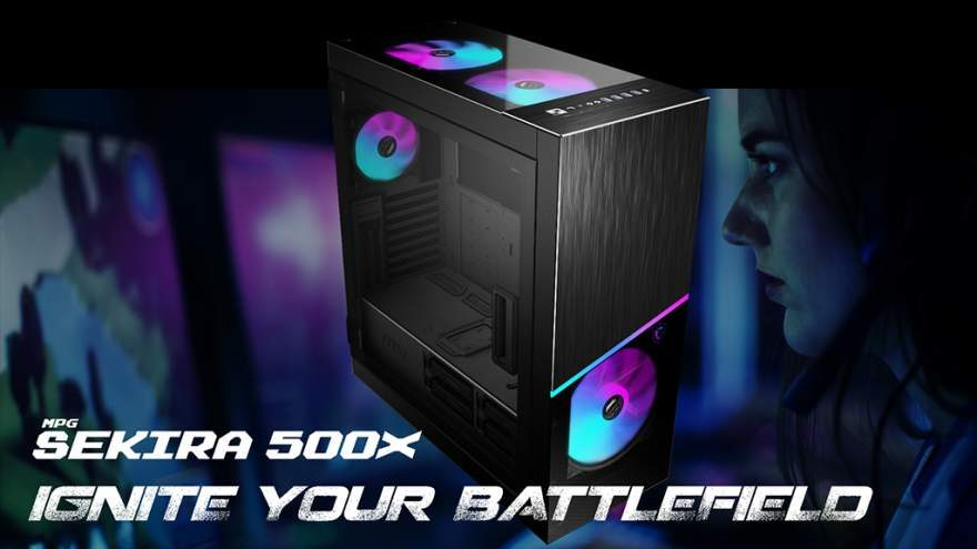 MSI Unveils MPG Sekira 500 Series Gaming Chassis