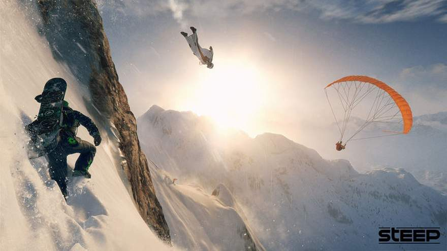 Ubisoft is Giving Away the Snowboarding Game 'Steep' Until May 21st