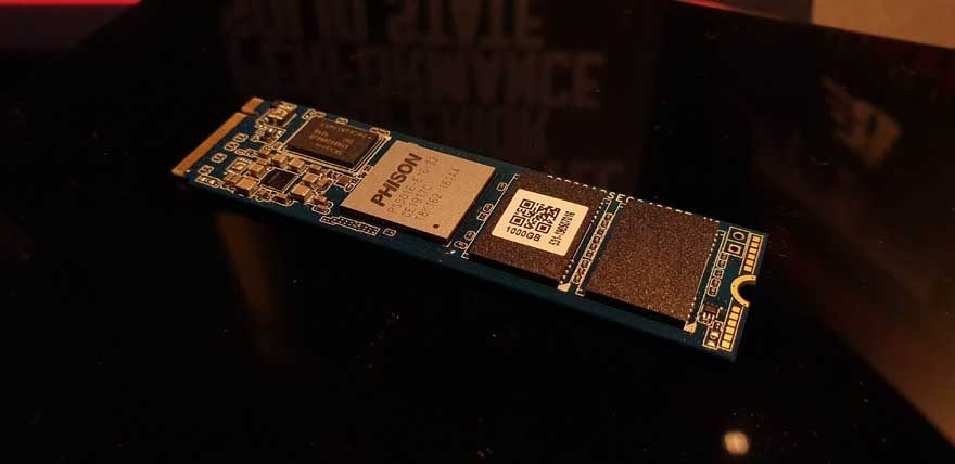 Patriot Reveal Their First PCIe 4.0 NVMe SSD