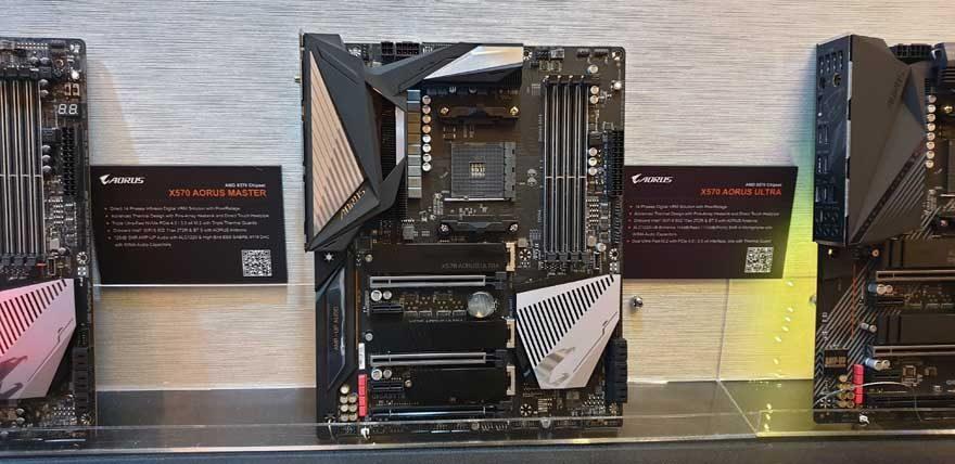 Gigabyte AORUS Reveal Huge Range of X570 Motherboards at Computex 2019