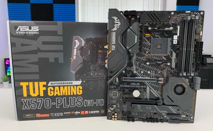 ASUS TUF Gaming X570-Plus WiFi Motherboard Preview & Unboxing