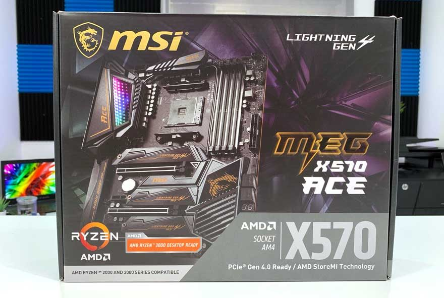 MSI MEG X570 ACE Motherboard Preview